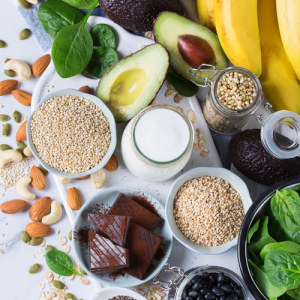 the health nut :: foods-with-magnesium